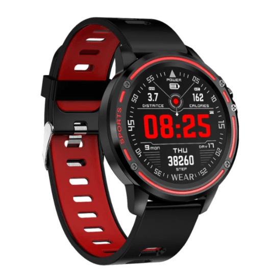 2019 Newest L8 IP68 Waterproof Multiple Sports Mode Heart Rate Bluetooth Smartwatch - HiSheep