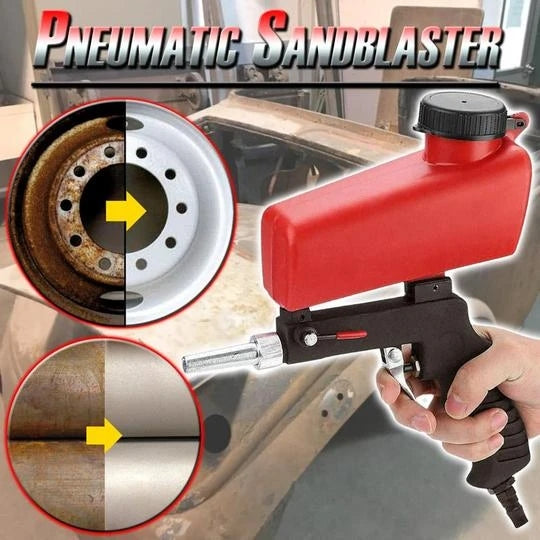Gravity Feed Sandblasting Air Gun - HiSheep