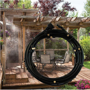 Outdoor Misting Cooling System - HiSheep