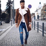 Fashion Men's Long Sleeve Warm Thicken Outerwear - free shipping - HiSheep