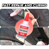 Mighty Tire Repair Glue - buy two free shipping - HiSheep