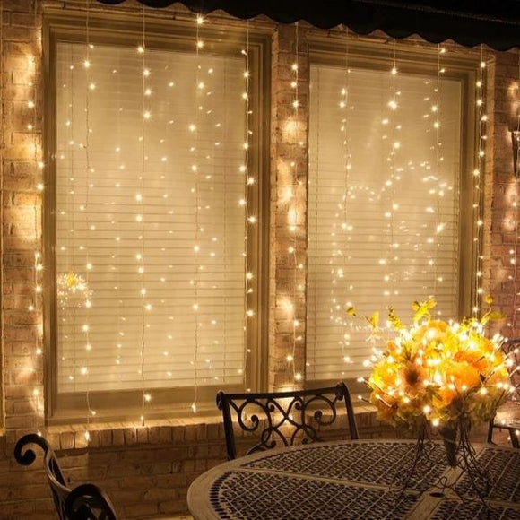 Hang Magical Waterfall Lights - buy two free shipping - HiSheep