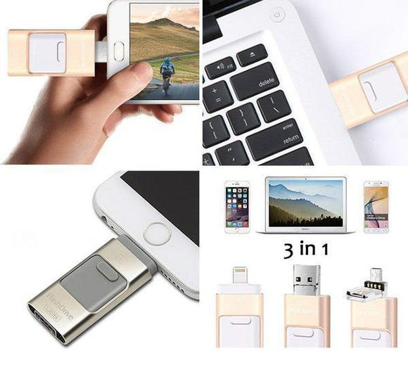 Iflash USB Drive For iPhone, iPad & Android - HiSheep