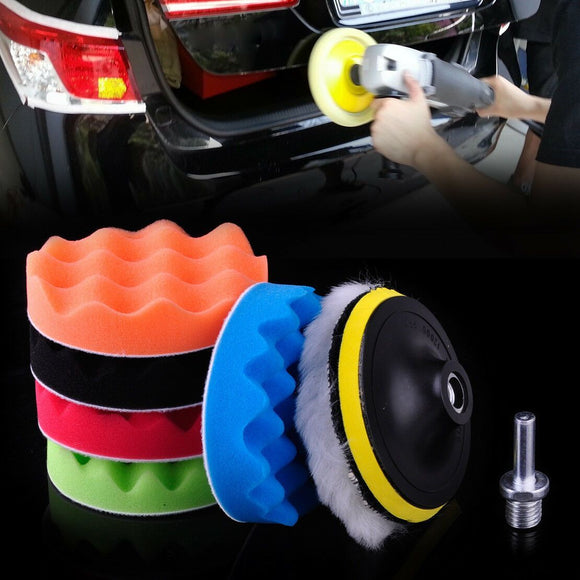 Car Polishing And Waxing Sponge Set - HiSheep