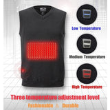 Adjustable Smart Heated Knit Vest with Practical and Fashionable - HiSheep
