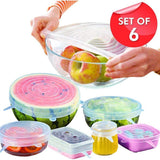 Silicone cover - Airtight, keep fresh (Set of 6) - HiSheep