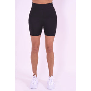 Women's Black Gym Shorts