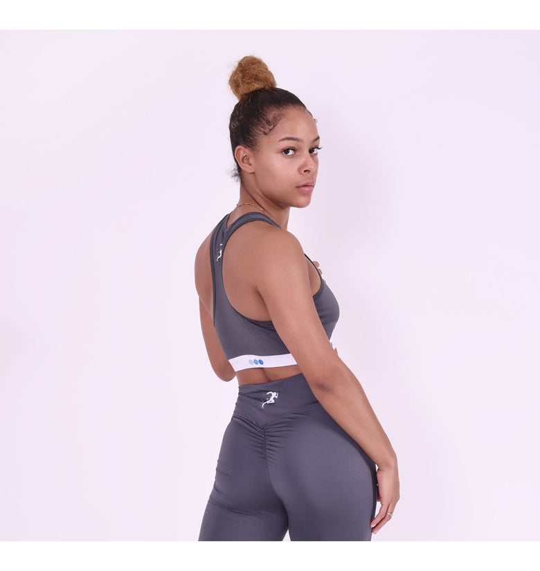 Women's Grey Gym Shorts