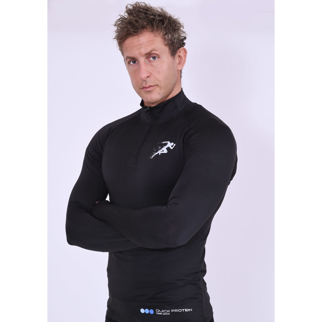 Men's Gym Fleece Black