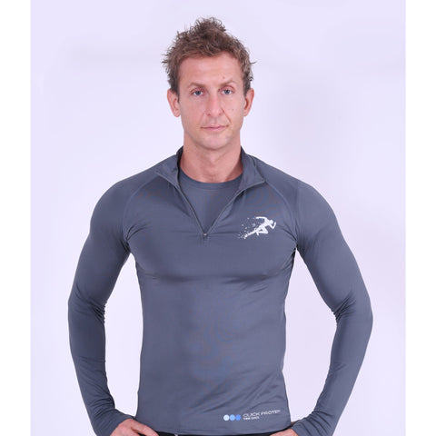 Men's Gym Fleece Grey