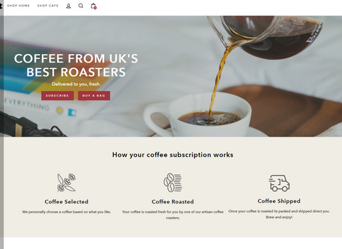 Coffee from UK Best Roasters