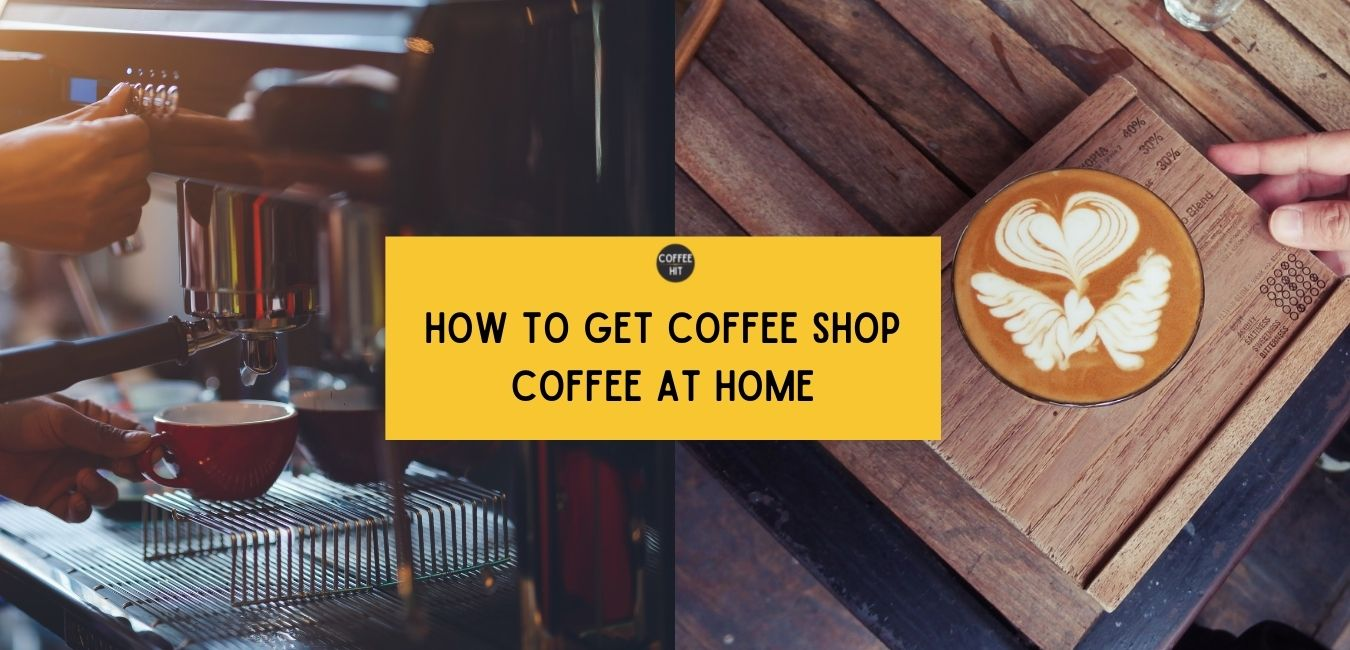 Coffee hit - make great coffee at home