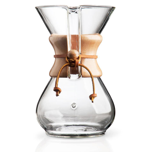 Chemex 6 Cup Wood Collar Coffee Maker-Chemex-Coffee Hit