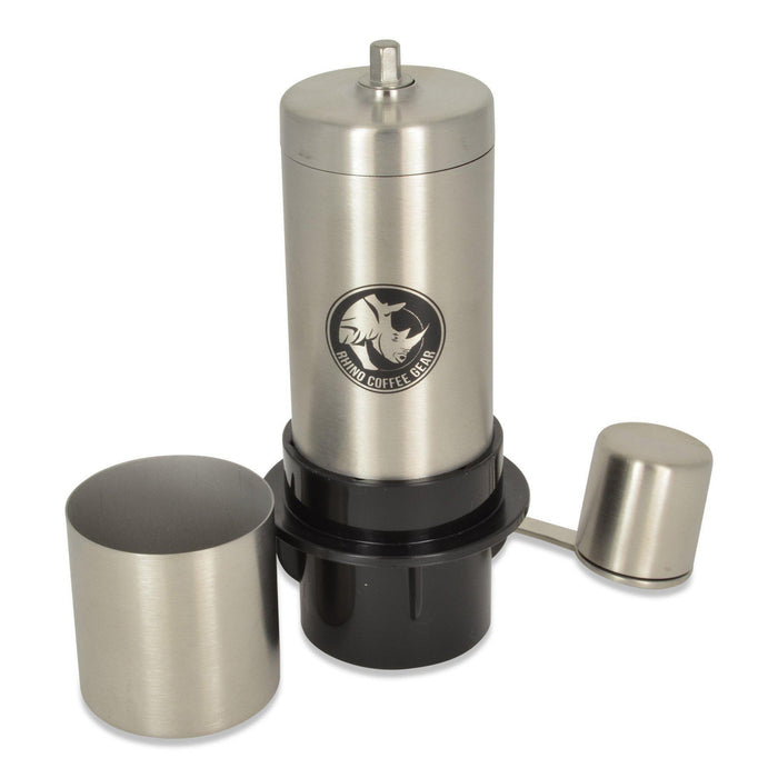 Rhino Mini Hand Grinder with AeroPress Adapter
