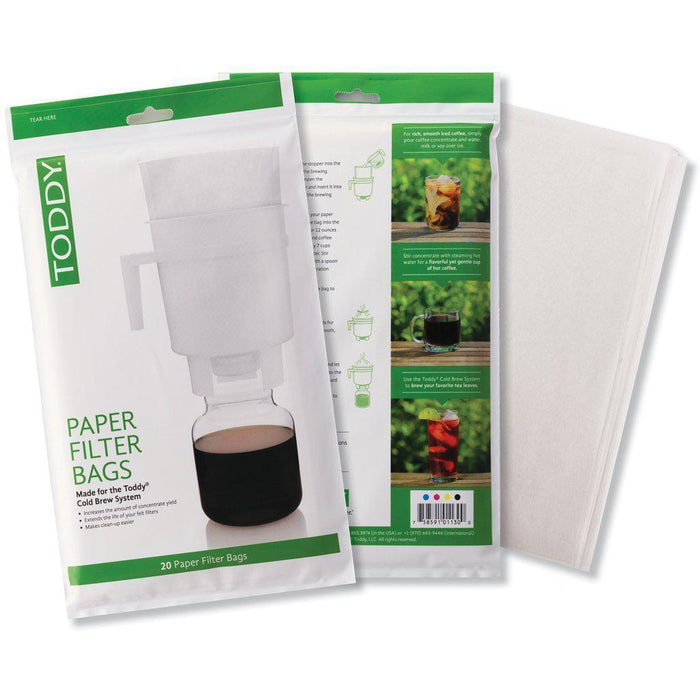 Toddy Paper Filter Bags for Home (20)-Toddy-Coffee Hit