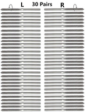 "Senmit Swage Lag Screws Left & Right 60 Pack for 1/8"" Cable Railing, 316 Stainless Steel Stair Deck Railing Wood Post Balusters System 30 Pairs - Senmit"