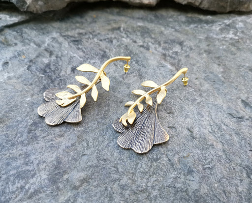 Earrings Gold Plated Brass  SR142