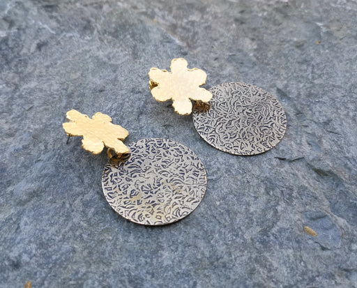 Earrings Gold Plated Brass  SR146