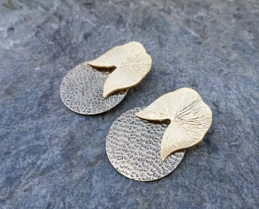 Earrings Gold Plated Brass  SR151
