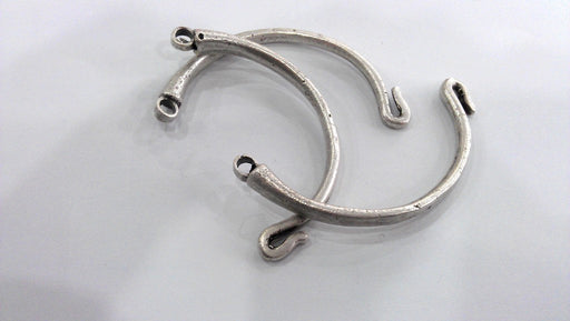 Antique Silver Plated Brass  Bracelet For Your Craft , Findings, G5000
