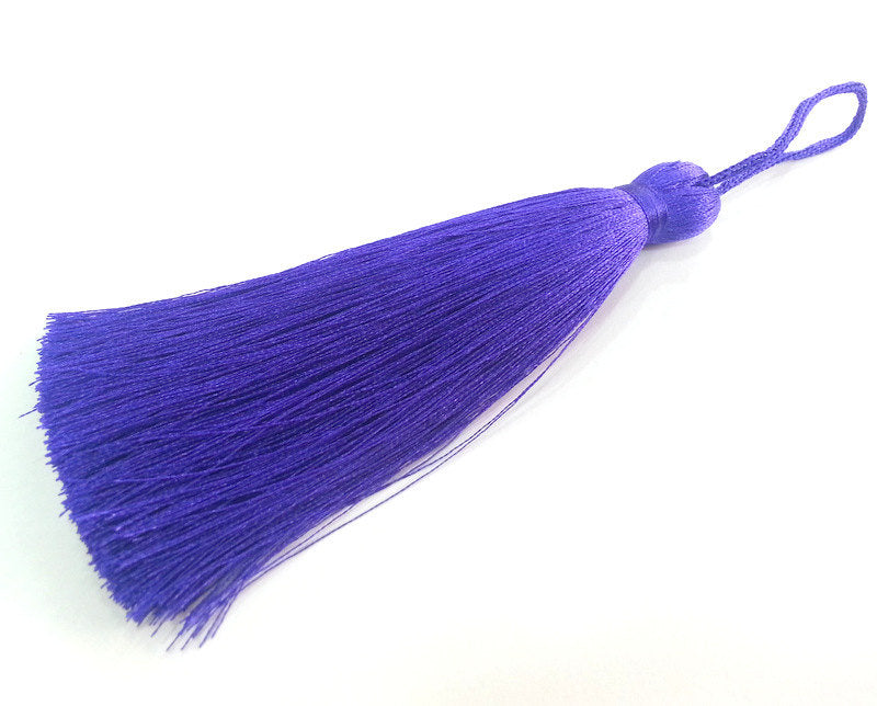 Purple Tassel , Large Thick 113 mm - 4.4 inches   G13555