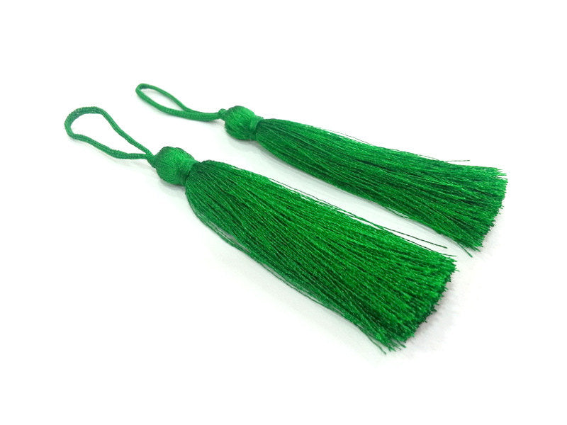 2 Green Thread Tasse l2 pcs (78 mm - 3 inches)   ,   G9477