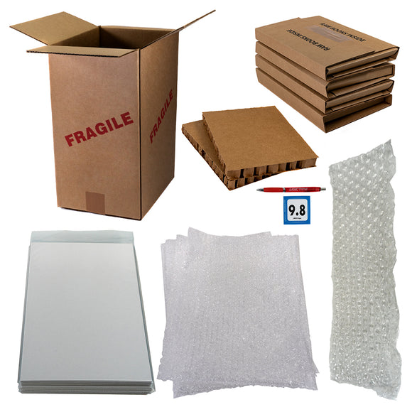 Comic Books Large Shipping Kit (11-40 books)