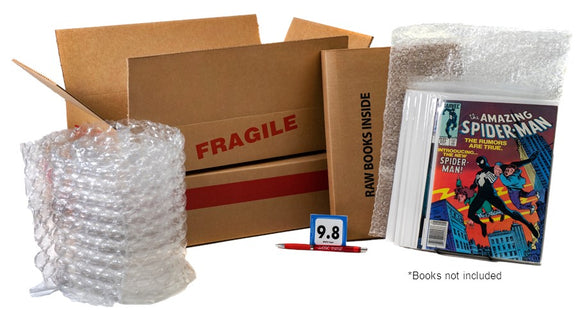 Small Shipping Kit, Comic book ship kit, shipping comics, comic book shipping