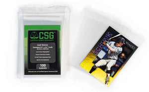 Sports Cards - Card Sleeves (5 Packs of 100) - Order limit 5 per household