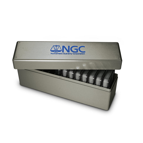 NGC Double Thick Coin Holder Display Box