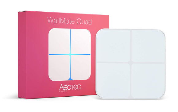 Aeotec WallMote Quad (wall switch or remote)