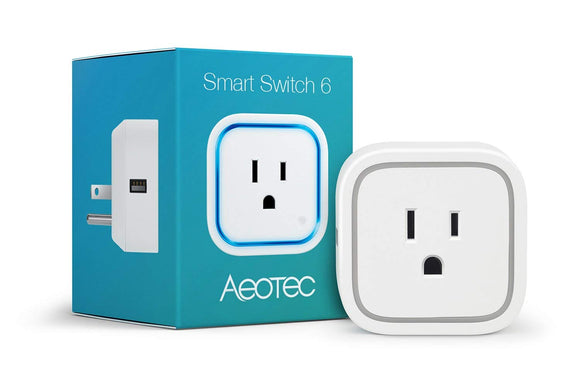 Aeotec Smart Switch 6 (wall adaptor with USB)