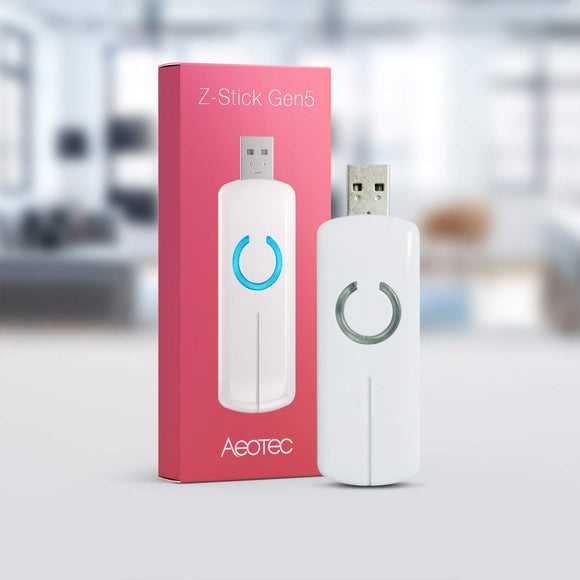 Aeotec Z Stick Gen 5 USB to Zwave Dongle
