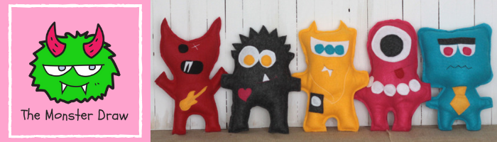 DIY Cuddly Monsters