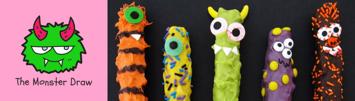 Monster Pretzels
