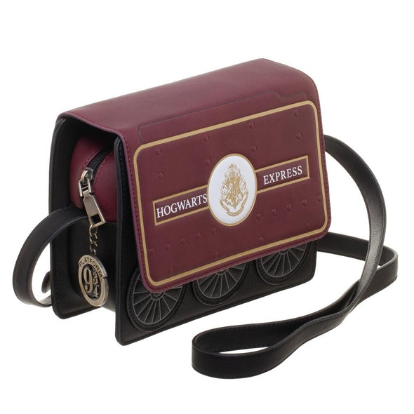 Harry Potter Hogwarts Express Crossbody Handbag Purse - Snapback Empire