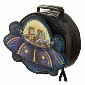 Rick and Morty Spaceship Die Cut Lunch box - Snapback Empire