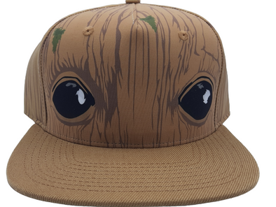 Marvel Guardians of the Galaxy Groot Snapback Hat - Snapback Empire