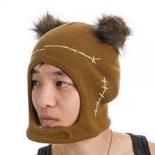 Star Wars Ewok Mascot Brown Cosplay Beanie Hat - Snapback Empire