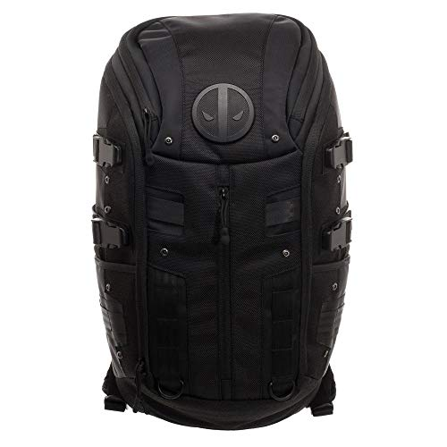 Marvel Deadpool Black Tactical Backpack - Snapback Empire