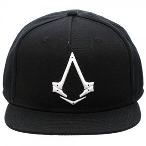Assassins Creed Syndicate Logo Black Snapback Hat - Snapback Empire