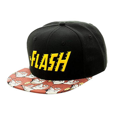 Flash Logo Halftone Sublimated Snapback Hat - Snapback Empire