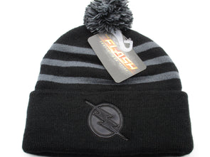 DC Comics The Flash Pom Beanie Hat - Snapback Empire