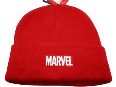 Marvel Comics Red Beanie Hat - Snapback Empire