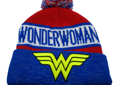 DC Comics Wonder Woman Reflective Beanie Hat - Snapback Empire