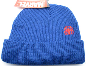 Marvel Comics Spiderman Blue Beanie Hat - Snapback Empire