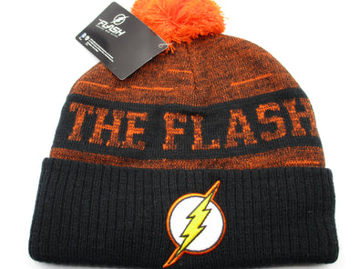 DC Comics The Flash Orange Beanie Hat - Snapback Empire
