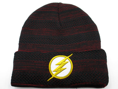 DC Comics The Flash Cuff Beanie Hat - Snapback Empire