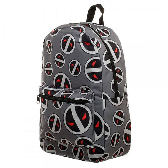 Marvel Deadpool Gray Backpack - Snapback Empire