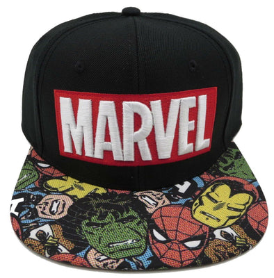 Marvel Snapback Hat - Snapback Empire